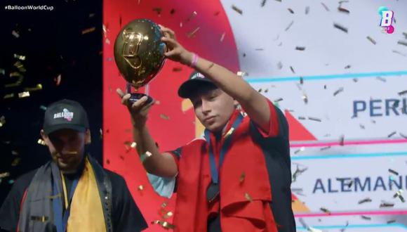Perú logra coronarse campeón en el primer Mundial de Globos. | Foto: Twitter.