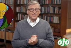 Al mismo estilo que los Simpson: Bill Gates quiere tapar el sol para enfriar el planeta   VIDEO