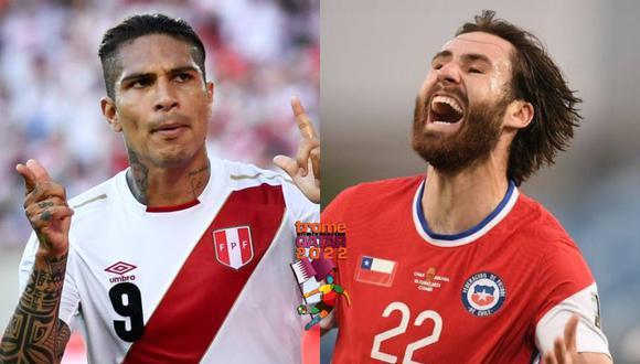 Perú y Chile se alista para enfrentarse para las Eliminatorias Qatar 2022. (Foto: Raúl Arboleda/AFP)