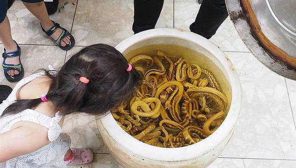 Cierran último restaurante de sopa de serpientes y lloran por ello