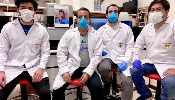 Científicos peruanos ya están coordinando con el INS para el empleo de esta prueba (Foto: Twitter de Edward Málaga-Trujillo)