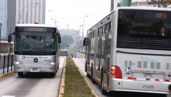 La ATU informó que ha dispuesto un nuevo horario para la circulación de transporte público para Fiestas Patrias. (Foto: Gobierno del Perú)