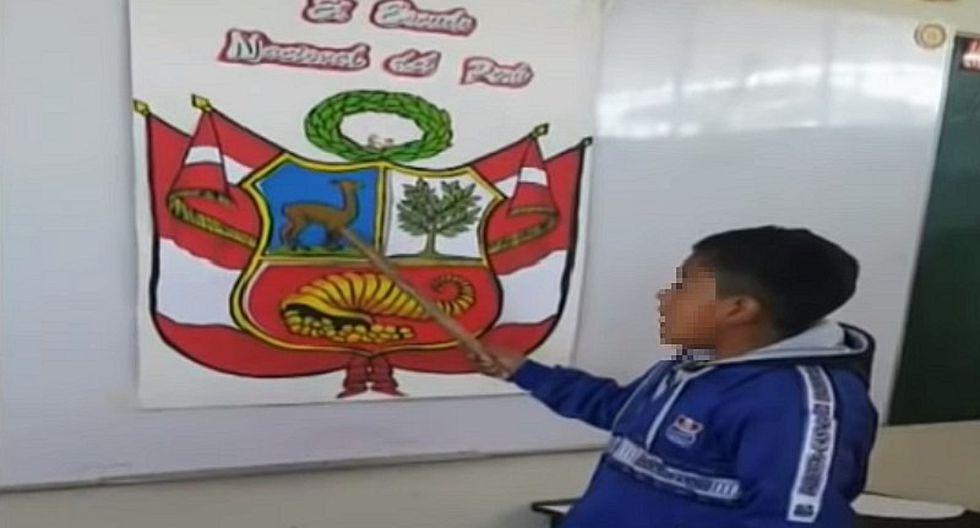 Escolar hace importante llamado de atención a las autoridades | VIDEO