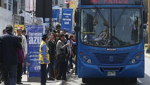 Municipalidad de Lima inicia retiro de rutas en el corredor Javier Prado