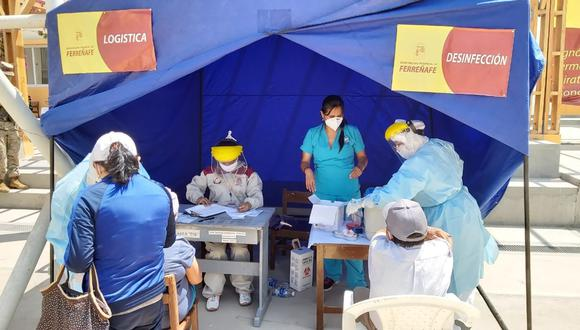 Detectan 91 casos positivos en operación Tayta en Ferreñafe (Foto: Municipalidad Ferreñafe).