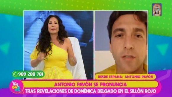 """Janet Barboza arremete contra Antonio Pavón en vivo y le dice: """"Eres un malcriado"""" . (Foto: Captura de video)"""