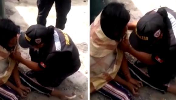 Encuentran a mujer maniatada y semidesnuda en Talara luego de reportarla como desaparecida (VIDEO)