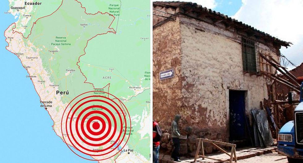 Indeci informa los daños tras sismo de 5.2 grados en Cusco