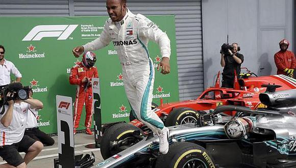 Fórmula 1: Hamilton vence en Monza y destruye a Vettel en lucha por el título