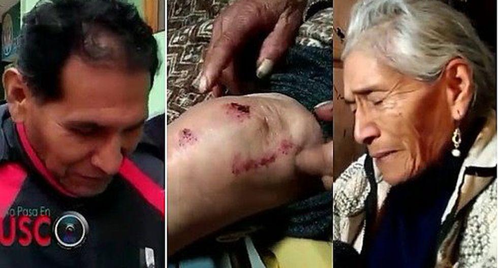 Policía en retiro arrastra en la vía pública a su madre de 79 años (VIDEO)