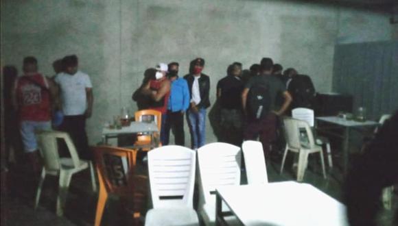 Piura: Encuentran a 25 personas en bar sin licencia y le clavan multa de 21 mil 500 soles (Foto: Municipalidad de Paita)