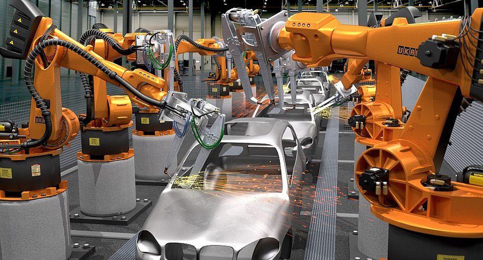 Los obreros son víctimas de la robotización de la producción