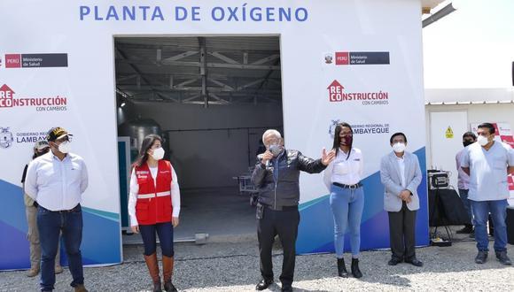Gobernador dice que varios millones en inversión quedarían en el olvido si vacan a Martín Vizcarra (Foto: Gore Lambayeque).
