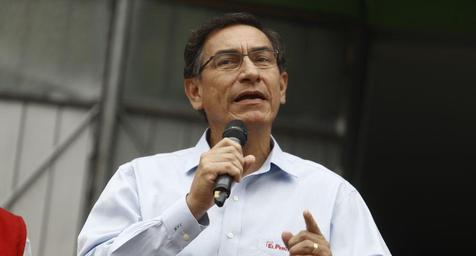 El presidente Martín Vizcarra brindó un discurso en la CADE 2019. (Foto: GEC)