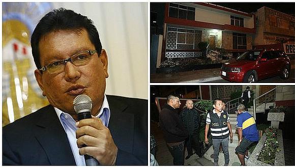 Caso Odebrecht: allanan viviendas de gobernador Félix Moreno
