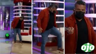 """""""Choca"""" Mandros se sienta y rompe sillón de América Espectáculos: """"He subido 6 kilos"""""""