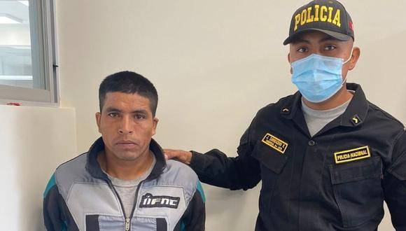 El presunto feminicida Esteban Maylle declaró ante la Policía que la mató durante un arranque rabia.