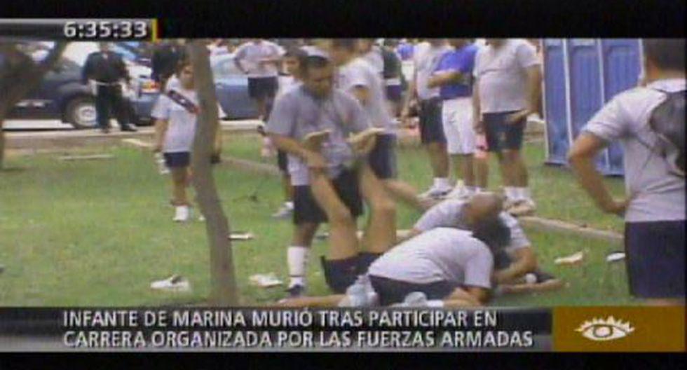 Infante de la Marina muere después de participar en maratón
