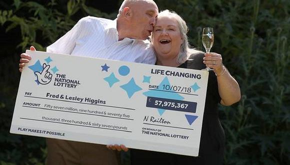 Abuelitos ganan lotería de $75 millones, pero habían roto el boleto
