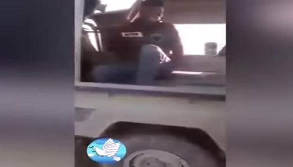 Francotirador llora desconsolado tras ser capturado [VIDEO]