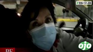 Periodista es agredida cuando trataba de entrevistar a Dina Boluarte | VIDEO