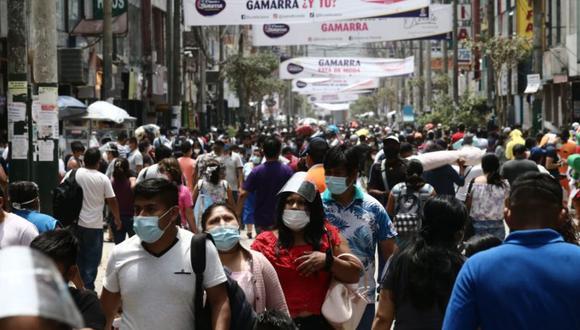 El Perú superó el millón de contagiados de COVID-19. (GEC)