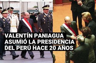 Valentín Paniagua juramentó como presidente del Perú hace 20 años
