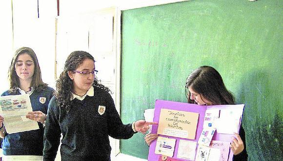 Exponer en el aula