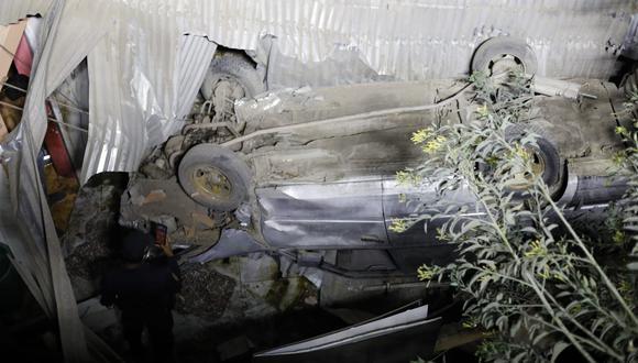 El accidente vehicular causó la muerte de una persona. (Foto: César Bueno @photo.gec)