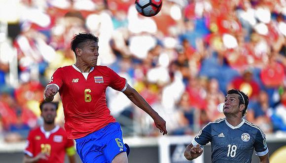 Copa América Centenario: Costa Rica y Paraguay empataron sin goles [FOTOS]