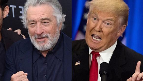 Donald Trump cuestionó la inteligencia de Robert De Niro