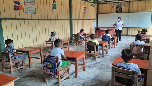 Ministerio de Educación advirtió que más de 300 mil escolares peruanos están en riesgo de interrumpir sus estudios el 2022 por la pandemia  (Foto: Minedu)