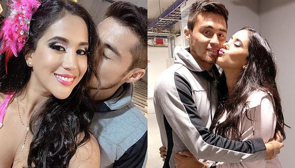 Melissa Paredes compara parecido de su hija entre ella y Rodrigo Cuba