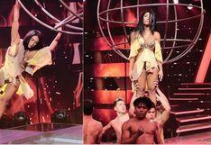El espectacular baile de Vania Bludau que conmovió a un miembro del jurado de 'Las reinas del show'