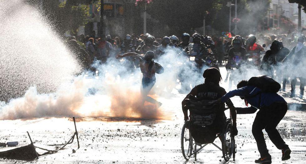 La protestas nacieron en octubre del año pasado y hasta el momento ha dejado 31 muertos. (EFE)