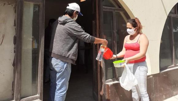 Lambayeque: Sacerdote abre comedores parroquiales para entregar alimento a personas vulnerables (Foto difusión).