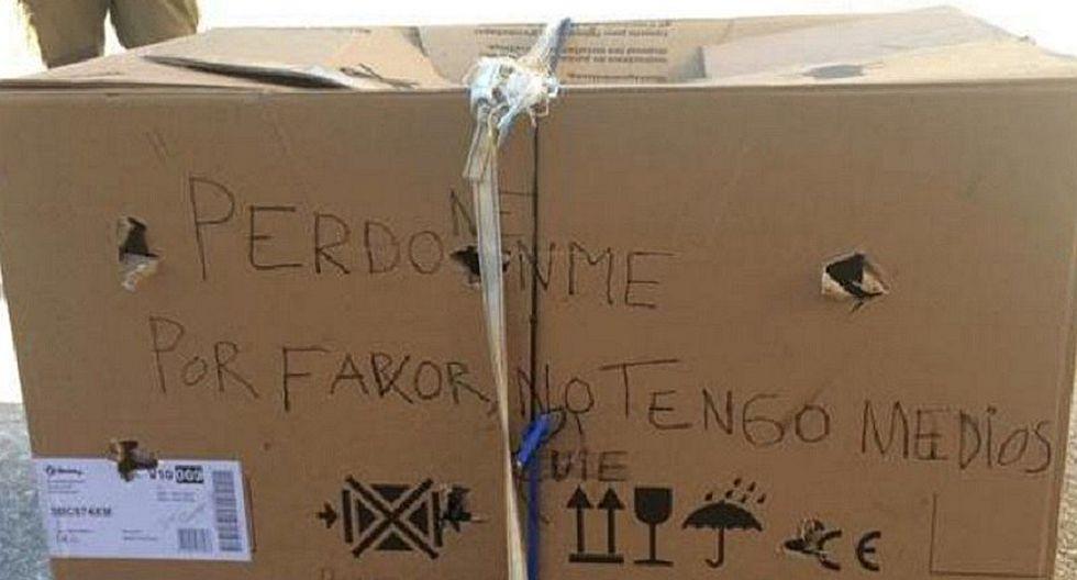 Encuentran caja con aterrador mensaje y jamás imaginaron lo que había dentro (FOTOS)
