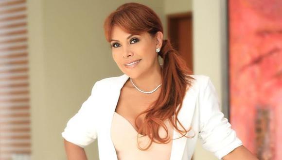 Magaly Medina no pudo ganar en rating a la novela 'Moíses y los diez mandamientos'. (Foto: Instagram)