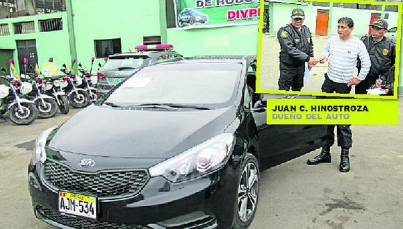 Comas: tres ladrones roban auto con dos niños dentro