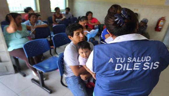 Seguro Integral de Salud beneficia a peruanos y extranjeros residentes en el Perú que no cuentan con otro seguro de salud vigente. (Foto: SIS)