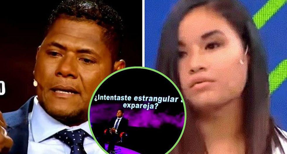 """Juan """"Chiquito"""" Flores confesó haber agredido a su expareja en El Valor de la Verdad"""