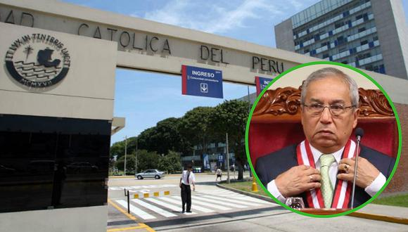 Fiscal Pedro Chávarry pide investigar a la PUCP por lavado de activos