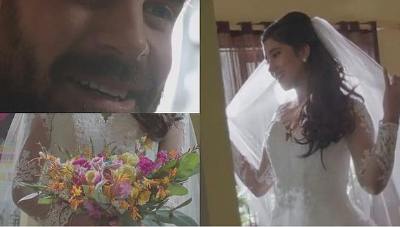 Ojitos Hechiceros: Melissa Paredes vuelve a lucir vestido de novia para su boda en novela peruana