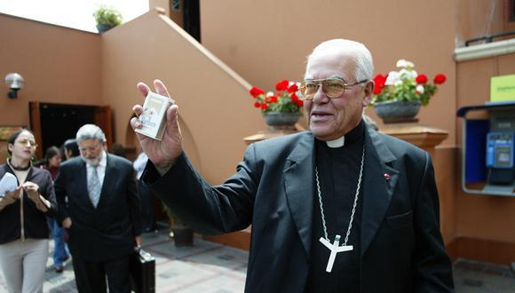 Monseñor Luis Bambarén falleció este viernes tras ser diagnosticado con el COVID-19. (Foto: Inés Menacho / GEC)