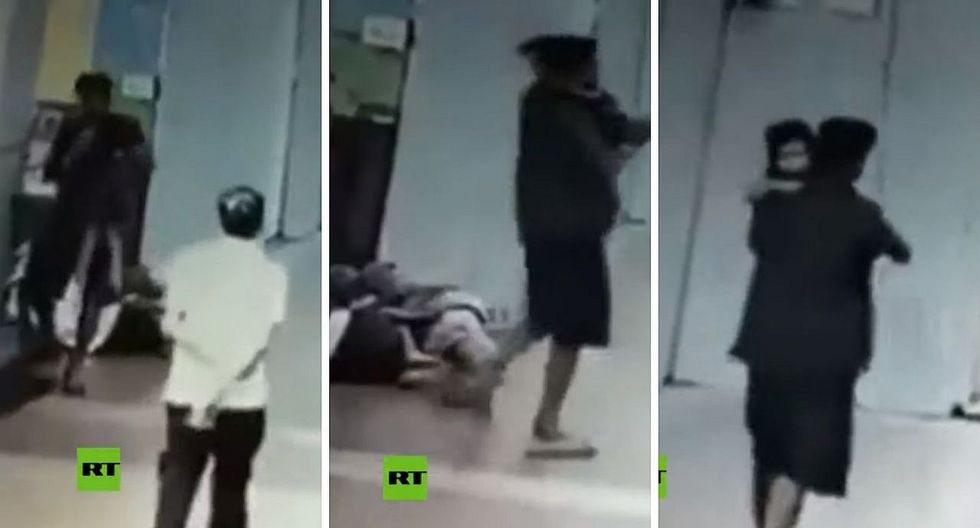 Cámaras captan el instante que un sujeto secuestra a una bebé de 3 años que apareció muerta | VÍDEO