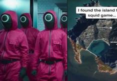 """Encuentran la ubicación de la Isla de """"El Juego del Calamar"""" utilizando Google Earth"""