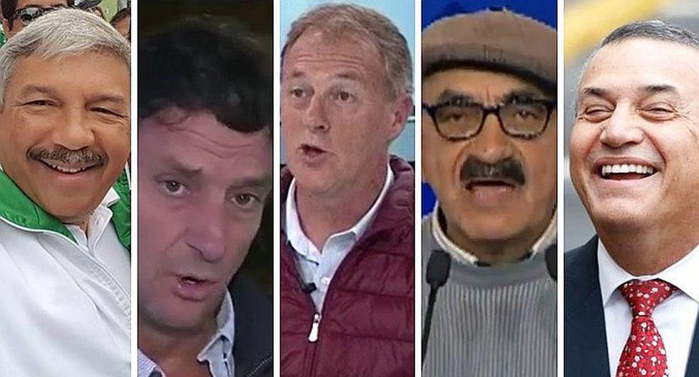 Candidatos a la alcaldía de Lima cerraron campaña a poco de las Elecciones Municipales 2018