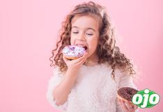 Los niños no deben ser premiados con dulces