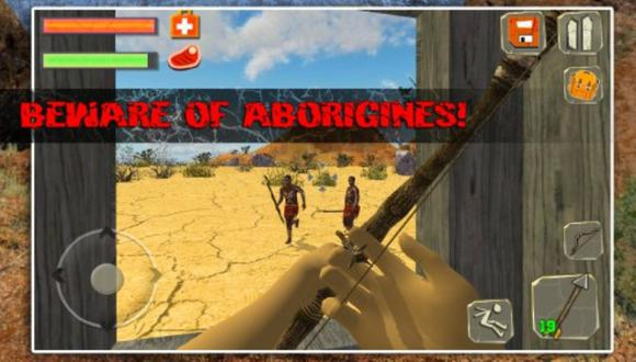Retiran a un videojuego racista que propone matar a aborígenes
