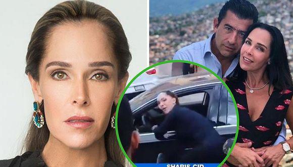 El dramático vídeo de actriz mexicana pidiendo ayuda para salvar a su esposo baleado